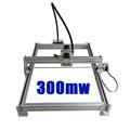 DIY laser machine laser engraving machine cutting plotter 300mw mini carving engraving area 35 50cm CNC