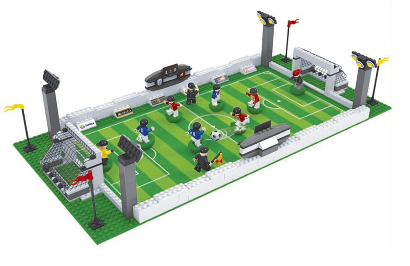 Ausini building block set compatible with lego football series 199 3D Construction Brick Educational Hobbies Toys for Kids(China (Mainland))