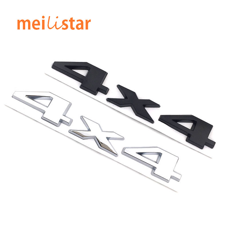 3D metal 4x4 Four wheel drive Car sticker Logo Emblem Badge Car Styling for Fiat Bmw Ford Honda volkswagen Audi toyota opel DS(China (Mainland))