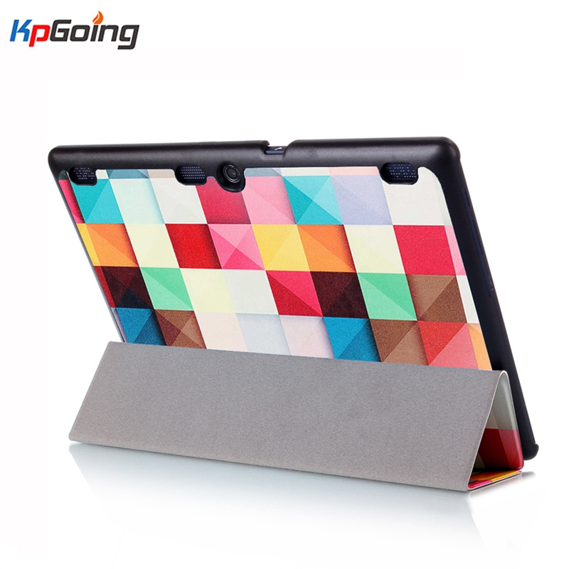 Top Tab2 A10-70F/L Tablet Cover 10.1 Inch 3D Painted Flip Cover for Lenovo A10-30 X30F /tab3 10 Business TB3-X70L Tablet Case