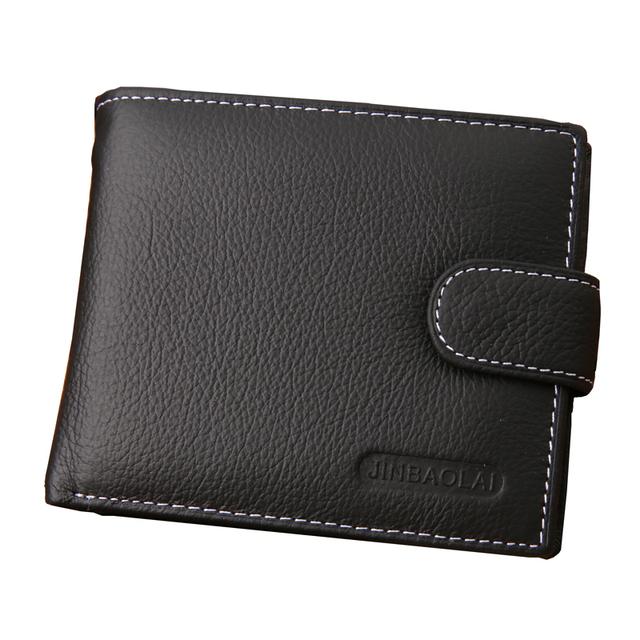 2016 евро мужской 100% натуральная кожа бумажник дизайнер бренда бумажник мужчины ...