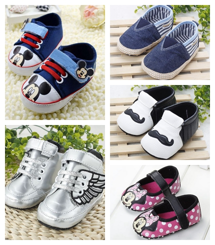 2016 Fashionable Style Baby Shoes Breathable Lovely Exterior Toddler Shoes Comfortable Soft Bottom Infant Shoes