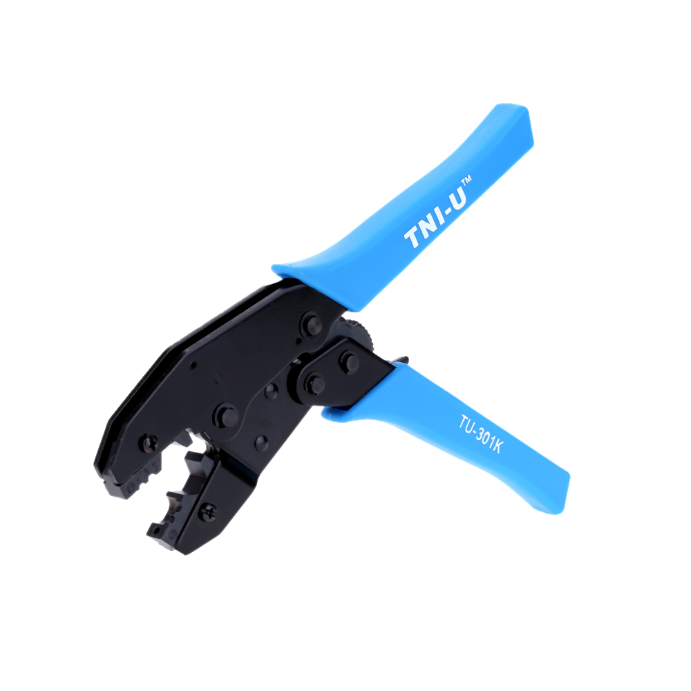 Optical Fibre Joint Click Pulley Ratcheting Crimping Pliers Adjustable Wire Crimpers Crimping Tool Practical Line Pressing Tool(China (Mainland))
