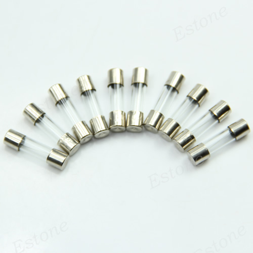 J34 free shipping  10PCS Quick Blow Glass Tube Fuses 5 x 20mm 250V 5A<br><br>Aliexpress