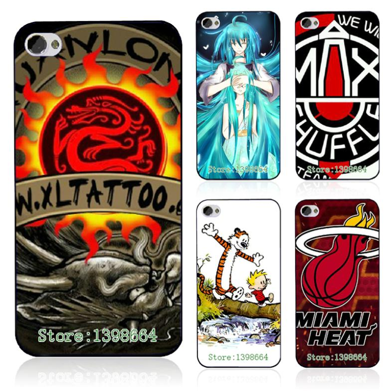 Retail 1pcs 2014 new arrival popular hybrid sport and cartoon design Luxury black Hard Case Cover For Iphone 4 4s free shipping(China (Mainland))