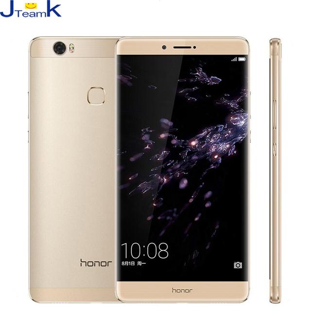 """Оригинал Huawei Honor 8 Dula 4 Г Мобильный Телефон 6.6 """"2560*1440 Экран окта основные 2.5 ГГц 4 ГБ Оперативной Памяти Металлический Корпус 4500 мАч батареи"""