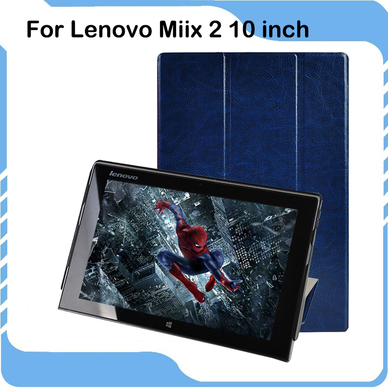 High Quality For Lenovo Miix 2 10 Case Slim Flip Leather Stand Tablet Case Cover for Lenovo Miix2 10 inch Coque caso tablet <br><br>Aliexpress