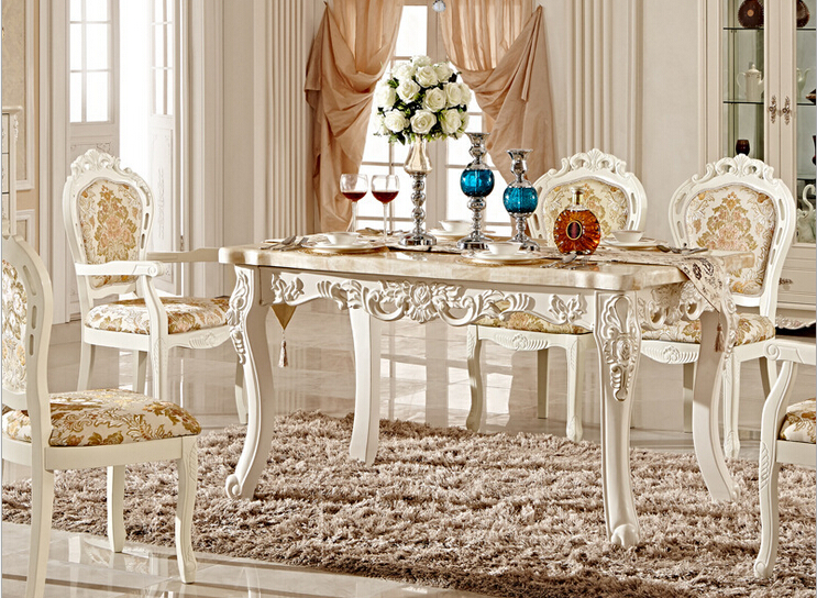 Luxury Italian Style Dining Table Set In Dining Tables From Furniture On Alie