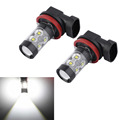 2x H8 H11 50W 6000K Chips LED Car Fog Light Fog Lamp LED Headlight Fog Driving