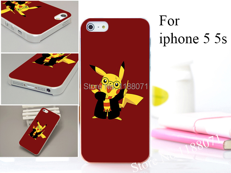 pokemon 1 Hard Case Cover for iphone 5 5s 5g 5th 1PCS/lot(China (Mainland))