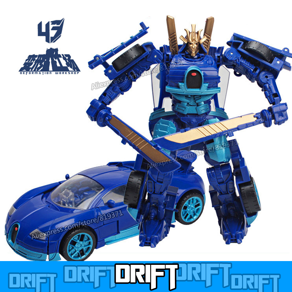 2015 New Hot Toys HasbroeINGlys Transformation 4 Action Figure Drift Optimus Prime Robot Anime Figures PVC Toys For Kids No Box(China (Mainland))