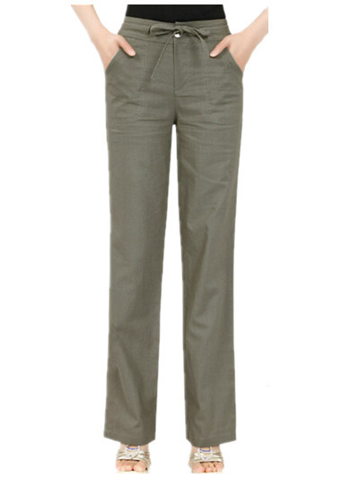 Plus size flare khaki pants « Clothing for large ladies