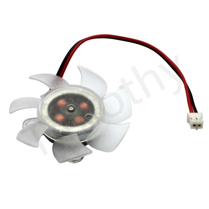 SVGA/VGA Video Card Chipset Blower/Cooler/Cooling 50MM Fan 2pin end 1PC #FS020 - ShenZhen MANNA HOME store