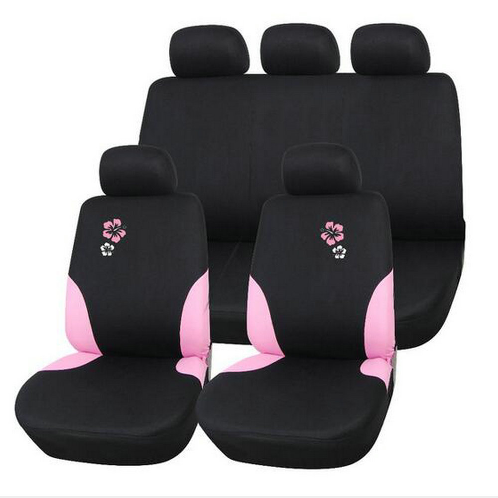 popular flower car seat covers buy cheap flower car seat covers lots from china flower car seat. Black Bedroom Furniture Sets. Home Design Ideas