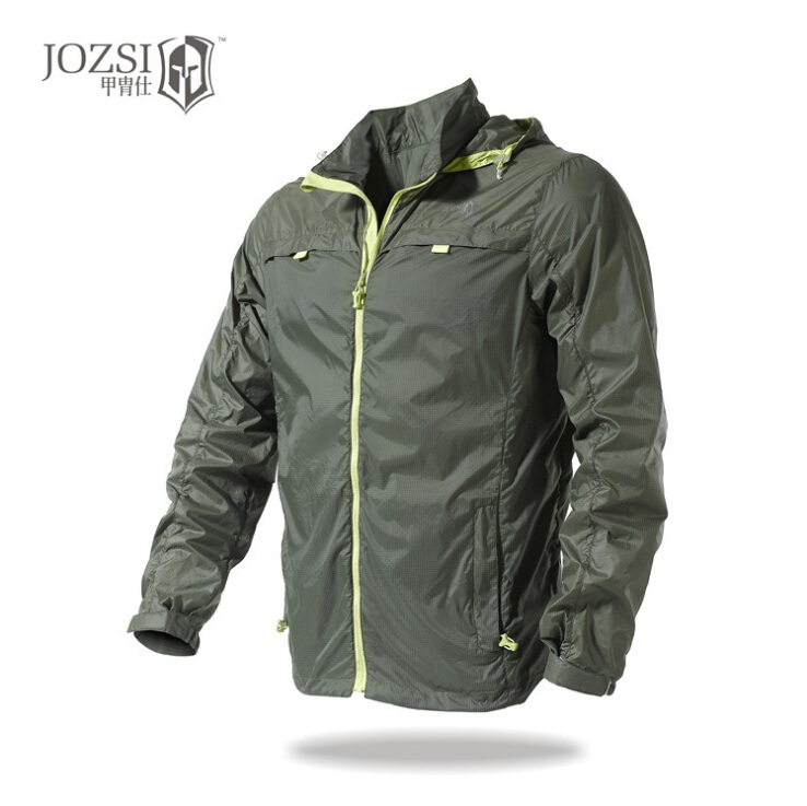 JOZSI Brand Summer Outdoor Quick-drying Skin Jacket Coat Men Sports Lightweight Sun Protection Jacket Anti-UV For Hiking Fishing(China (Mainland))