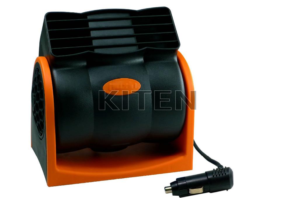 Гаджет  24V Car Auto Cooling Air Fan Vehicle Truck 2 Speed Adjustable Silent Cooler  None Бытовая техника