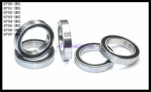 Buy 50pcs/Lot 6700-2RS 6700 RS 10x15x4mm Rubber Sealing Cover Thin Wall Deep Groove Ball Bearing Miniature Bearing Brand New for $14.19 in AliExpress store