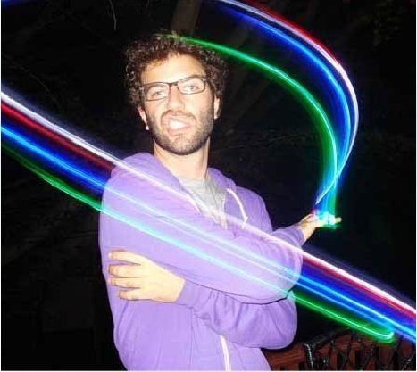 Free Shipping LED Magic Light Finger Ring Lamp Party Lights Flashing Toy Chrismas Night Light 100PCS/LOT