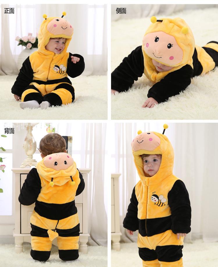 Скидки на Милый вставка костюм комикс детские комбинезоны одежда для младенцы дети фотография и тёплый для зима