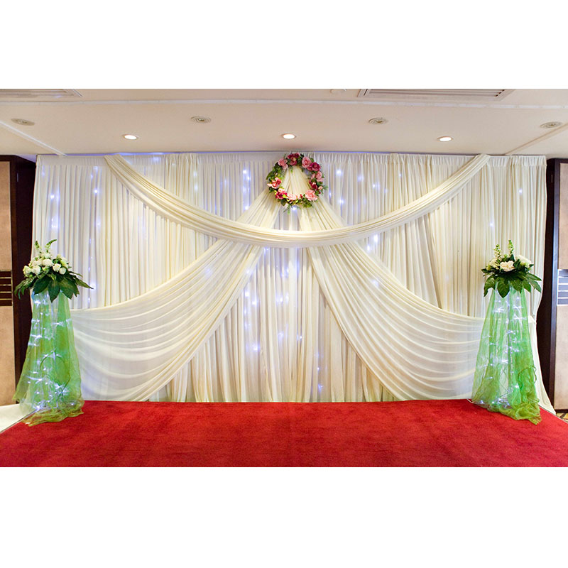 Online buy wholesale mandap decorations from china mandap for Background curtain decoration