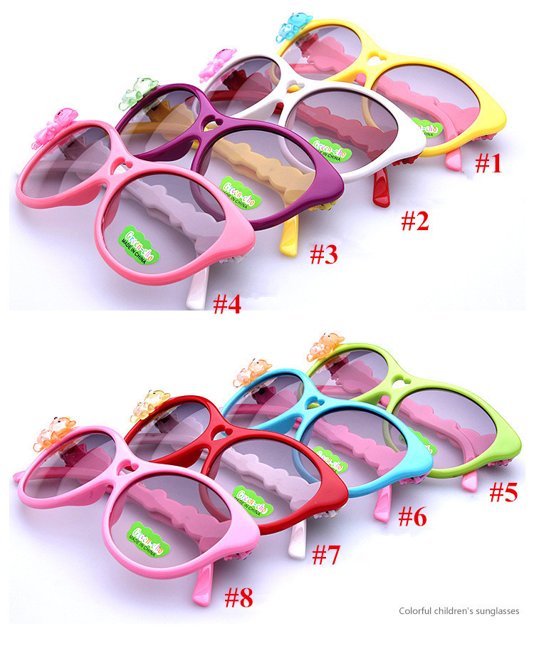 Солнцезащитные очки для девочек Sunglasses 8 1203 цена 2016