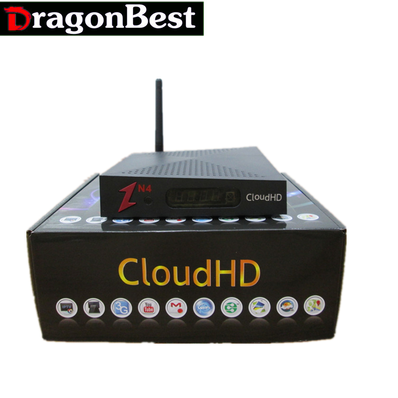 Cloud HD N4 DVB-S HD TV Satellite Receiver 2017 NEWEST Factory Hotsale Support Newcam WITHOUT IKS free shipping free ship(China (Mainland))