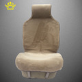 1 pc front fur cape universal seat covers car for priora avtochehol artificial color Cream colored