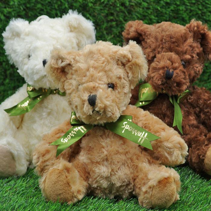 21cm mini cute teddy bear toy plush stuffed animals kids birthday gift factory price doll - ZhorYa Toys Co.,Ltd store