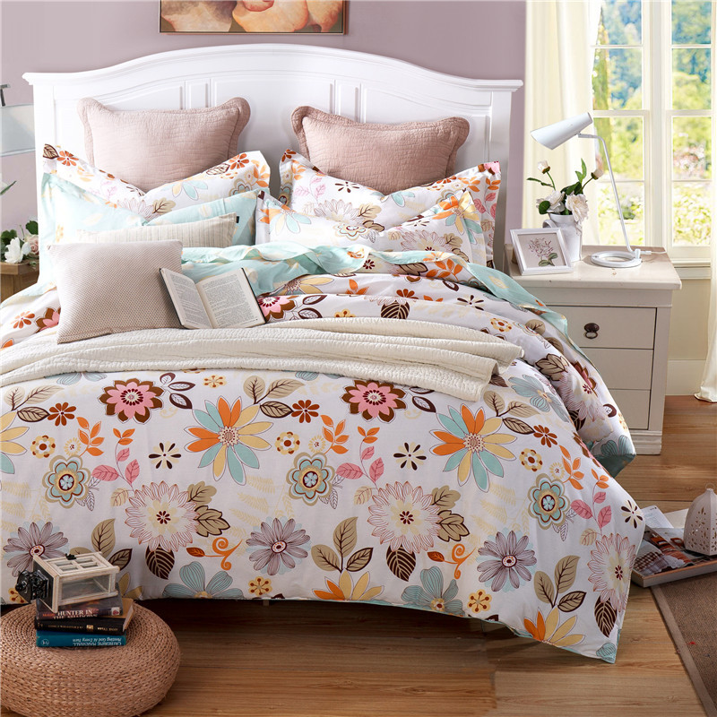 Online buy wholesale orange duvet cover set from china for Housse duvet