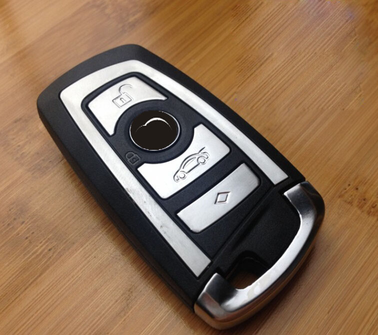 4 Buttons Smart Remote Key Shell Case For BMW 7 Series