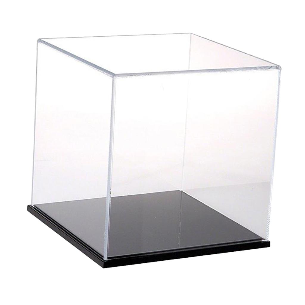 Clear Acrylic Display Case Show Box 8x8x8cm for Amiibo Funko POP Figure Toy