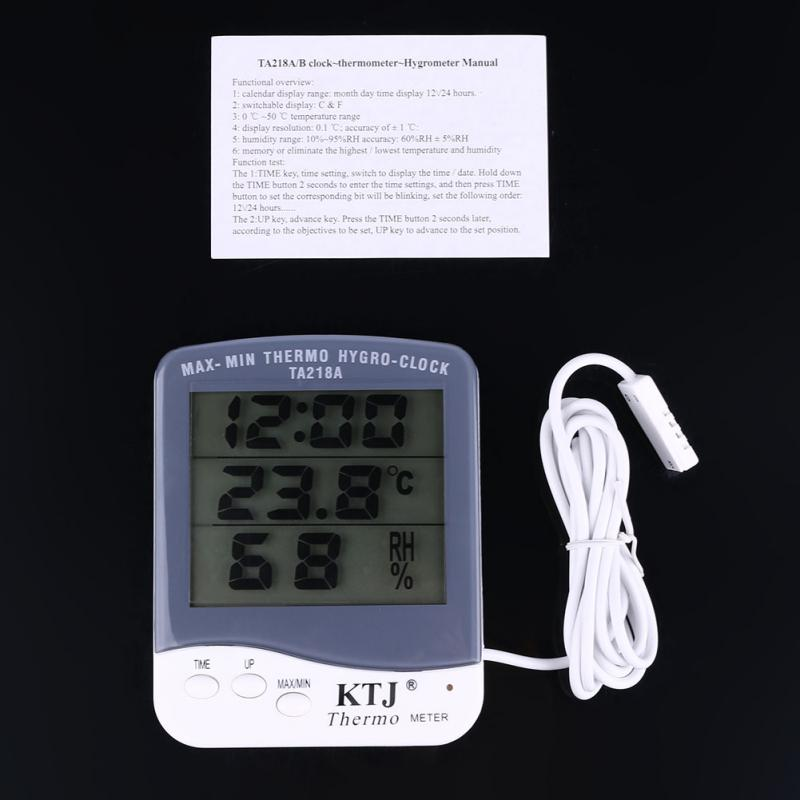 Mini Digital LCD Humidity Hygrometer and Temperature Thermometer<br><br>Aliexpress
