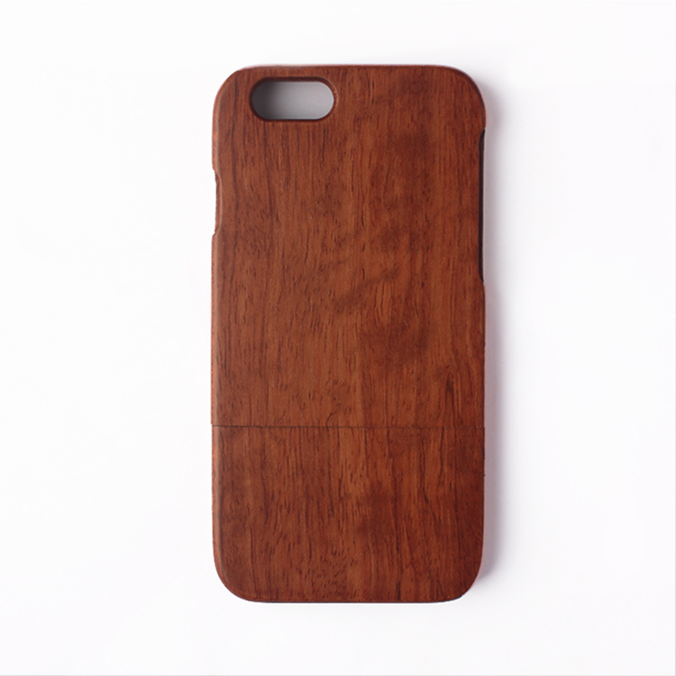 Genuine Brazil Pear Wood 4.7 inch Back Cover Protective Phone Case Iphone 6 Natural Wooden Shell - Kingdom store