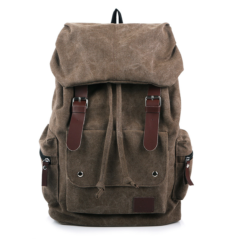 New arrival 2015 Casual School Backpack Male Sport Canvas Patchwork Laptop Backpack Women Tactical Backpack