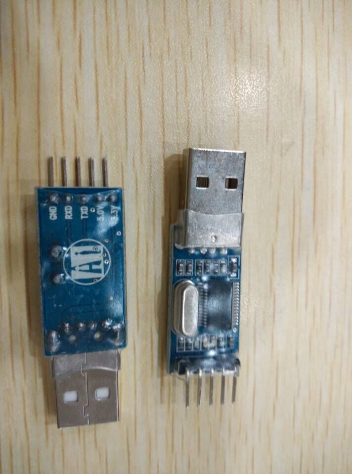 USB TTL nine upgrade Brush board PL2303HX STC microcontroller download cable line - Ho Shun Electronics store