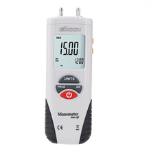 KKMOON Handheld High Performance Manometer Air vacuum Pressure Gauge meter Differential Digital Manometer manometro presion(China (Mainland))