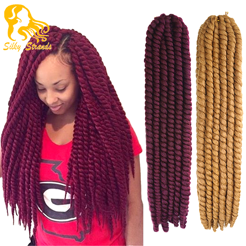 Havana Mambo Twist Crochet Braid Hair Extensions Synthetic Ombre ...