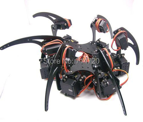 Hexapod Robot Kit With 18 Mg995 Servo Motor And 32 Servo