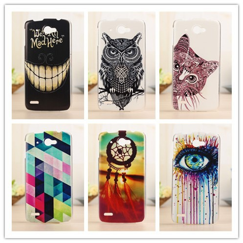 Fashion Painted Design Case For Lenovo S920 Mobile Phone Hard Plastic Cover Back Cases PY(China (Mainland))
