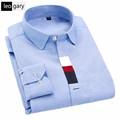 2017 New Pure Color Men Shirt Long Sleeve Dress Shirts Slim Fit Business Casual Shirt camisa