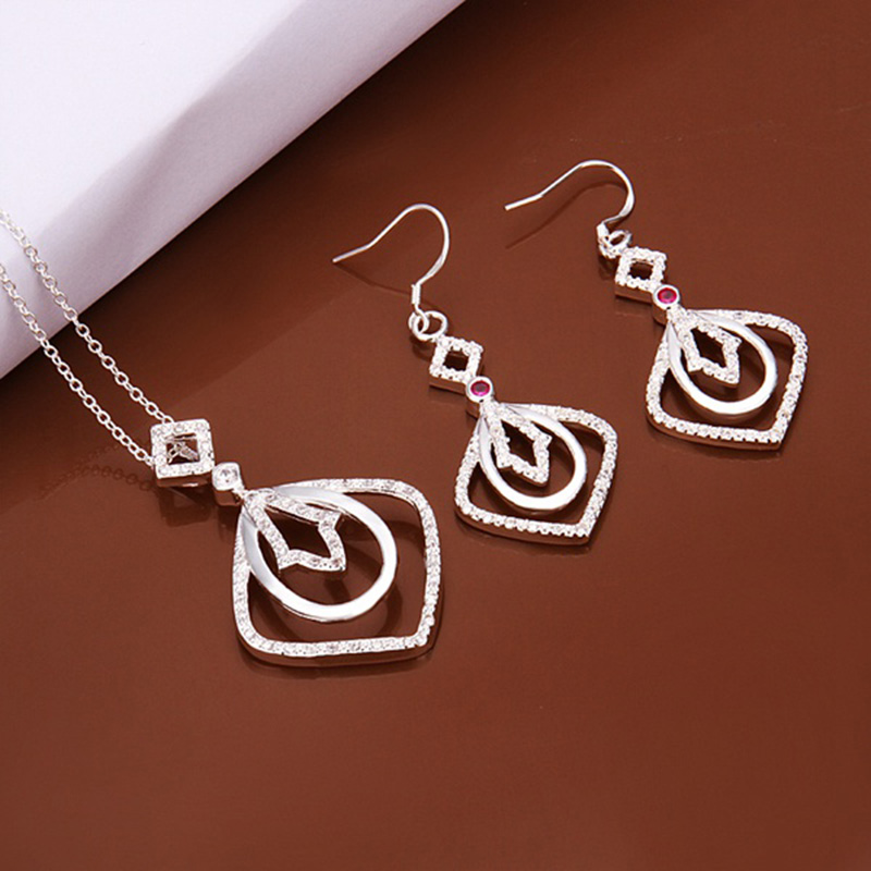 s462 sale 925 sterling silver jewelry sets direct