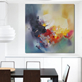 Handmade Items Colorful Abstract Modern Oil Painting On Canvas Wall Art For Living Room Pictures Home
