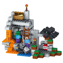 Buy World Series Big Box Set Model Building Blocks Compatible Educational Classic LegoINGlys Minecrafter Mine World Brick 249 Pcs for $17.72 in AliExpress store