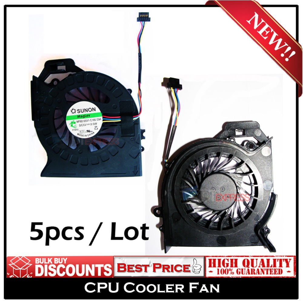 New! CPU Laptop Cooler Fan for HP Pavilion DV6 DV6-6000 DV6-6050 DV6-6090 DV6-6100 DV7 DV7-6000 AD6505HX-EEB MF60120V1-C181-S9A(China (Mainland))