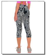 Aliexpress explosion exercise pants seven Digital Print Leggings are all match Pants spot wholesale