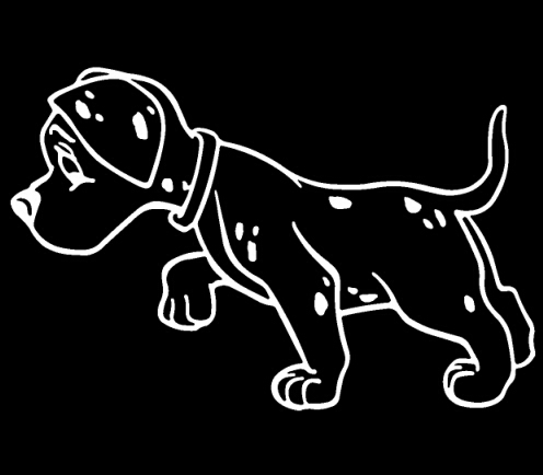Spotted Dog Animal Stickers For Cars Laptop Decoration Stickers Vinyl Door Decals Kids Room Wall Art Computer Creative Decor(China (Mainland))