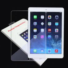 retail package for mini ipad screen protector 0.3mm tempered glass front ecran guard pelicula de vidro for ipad mini 1 2 3