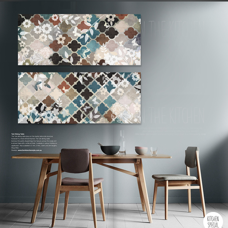 Modern Room Wall Decor : Modern decorative pattern canvas art texture color in