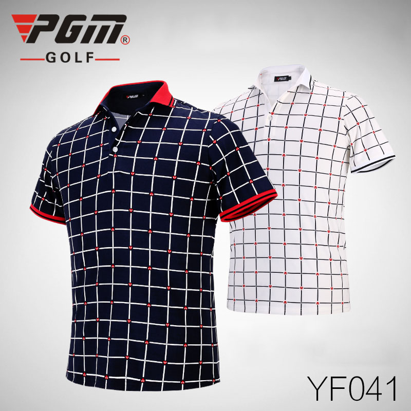 2016 newest pgm genuine men golf clothing summer shirts for Cheap quick t shirt printing
