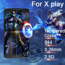 0.26mm 9H Explosion Proof Anti scratch LCD Tempered Glass Film For Motorola Moto X play xt1561 xt1562 Screen Protector Film